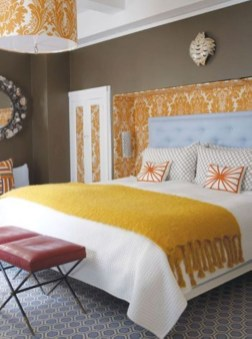 Yellow Bedroom For Your Child's Room Idea To Sleep Feels Warm 36