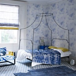 Yellow Bedroom For Your Child's Room Idea To Sleep Feels Warm 40