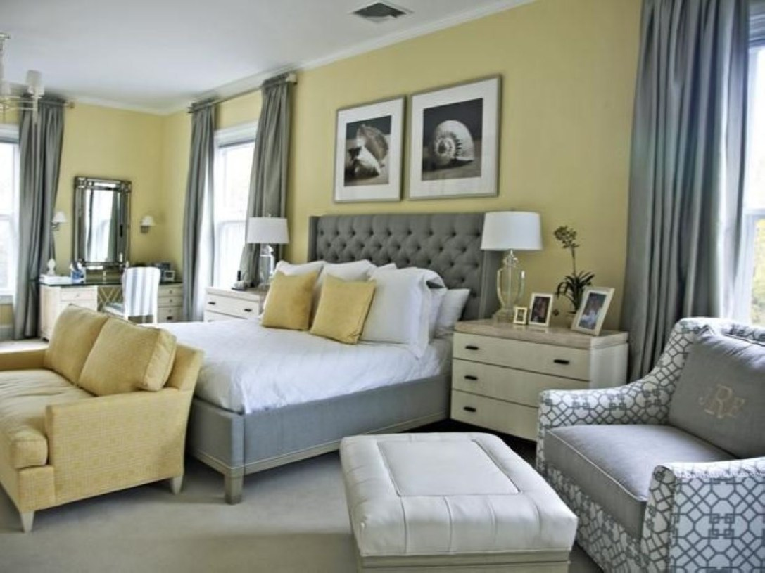 Yellow Bedroom For Your Child's Room Idea To Sleep Feels Warm 44