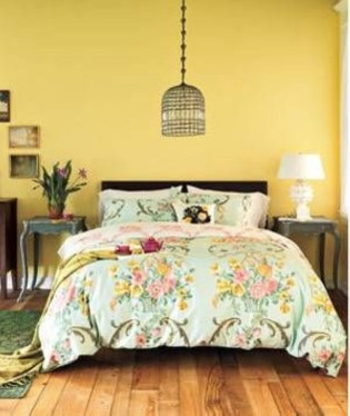 Yellow Bedroom For Your Child's Room Idea To Sleep Feels Warm 45