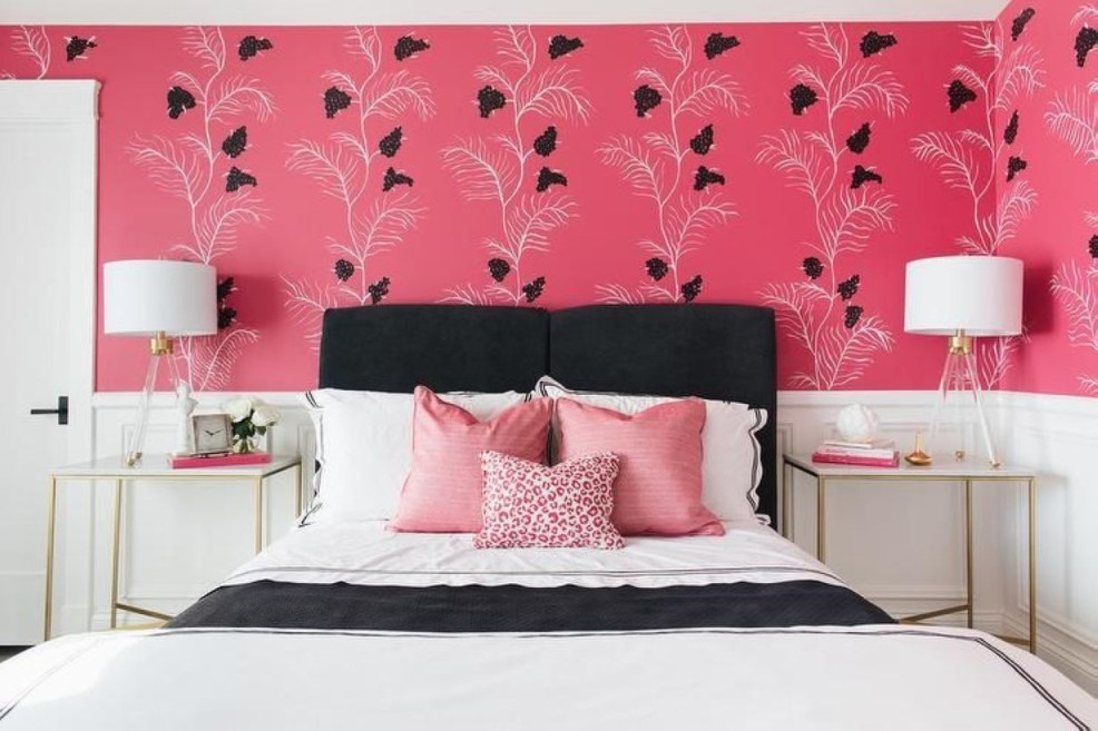 Cozy Teen Bedroom Decoration On Pink Style 12