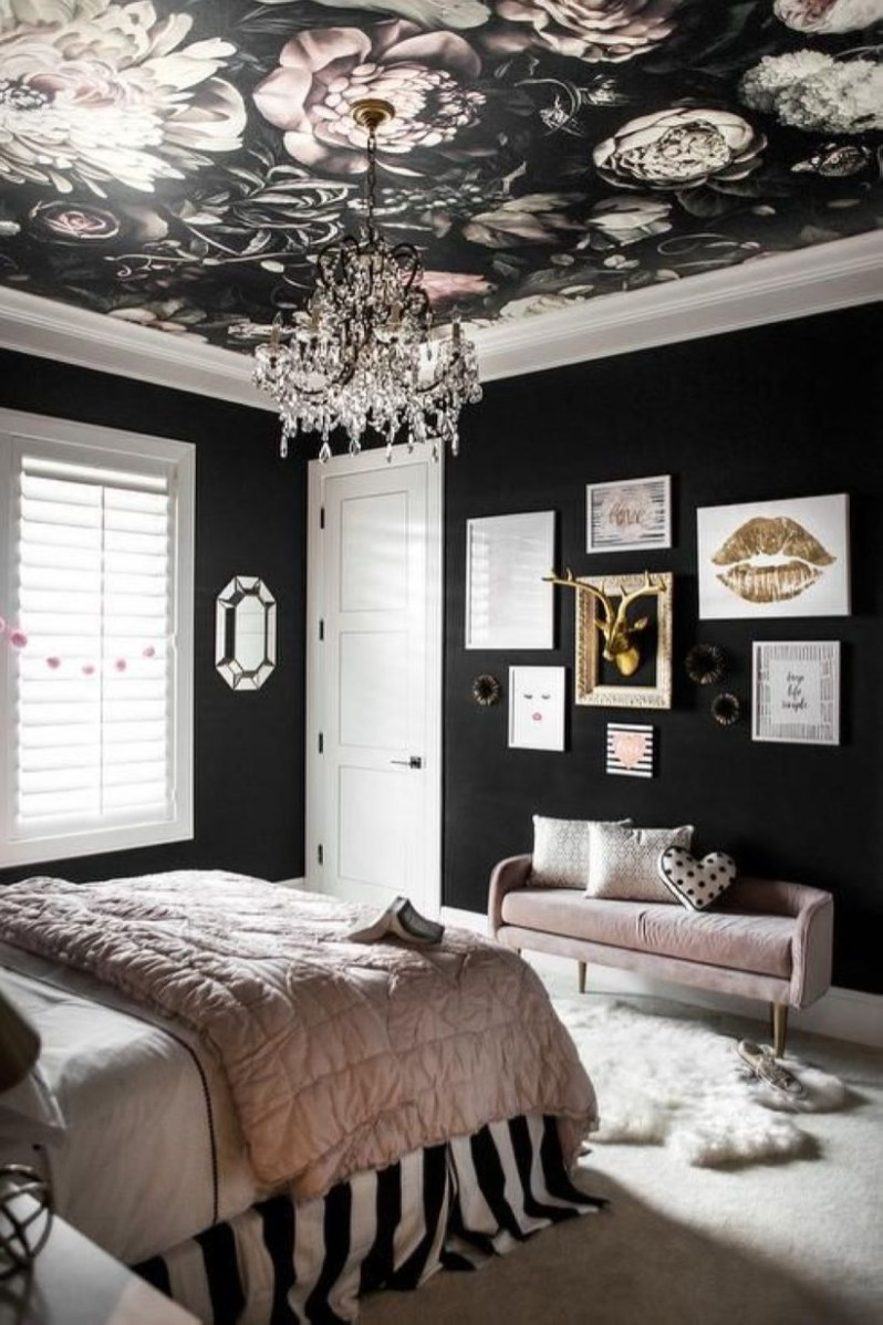Cozy Teen Bedroom Decoration On Pink Style 20