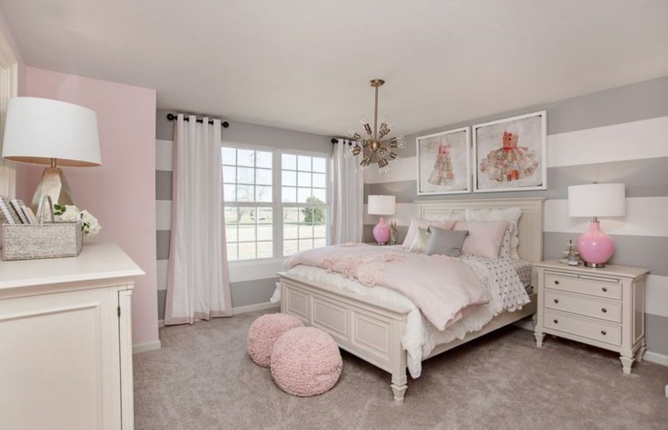 Cozy Teen Bedroom Decoration On Pink Style 21
