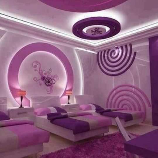 Cozy Teen Bedroom Decoration On Pink Style 29
