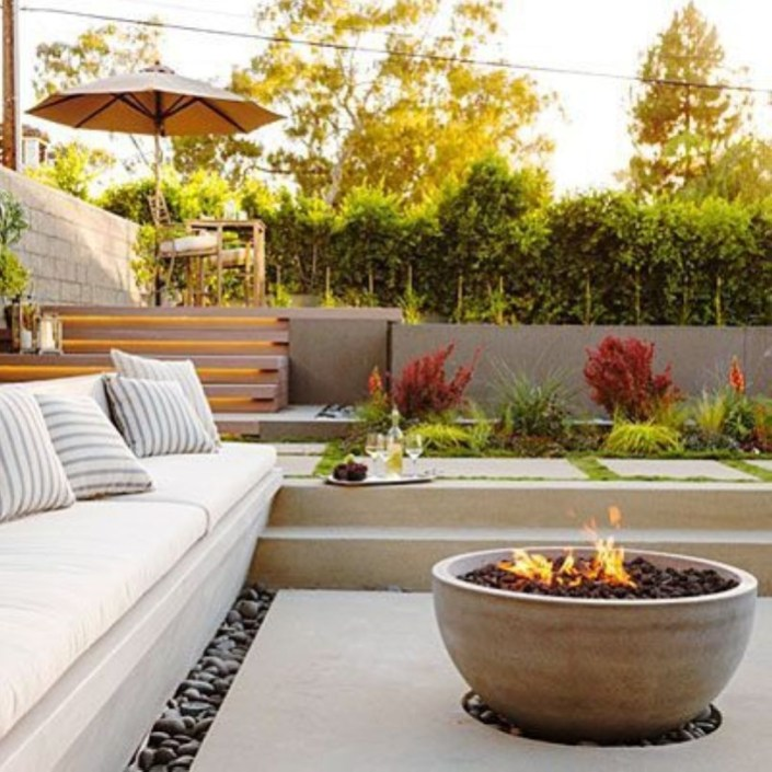 How To Make DIY Fire Pit In Garden With Low Budget 03