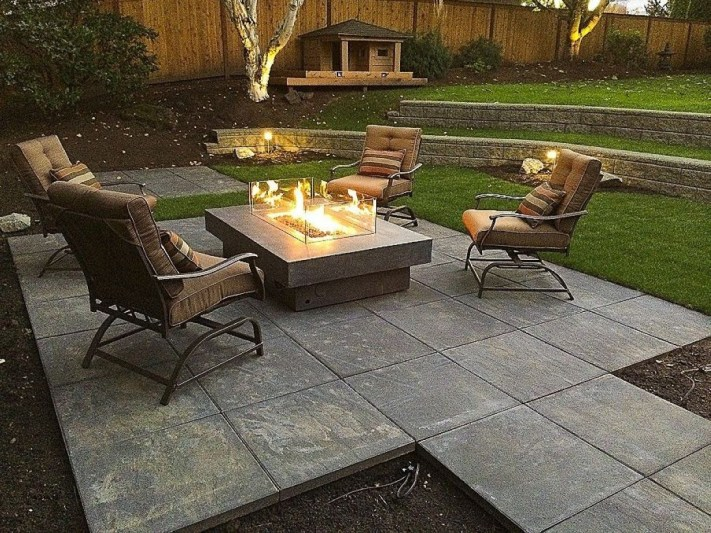 How To Make DIY Fire Pit In Garden With Low Budget 04