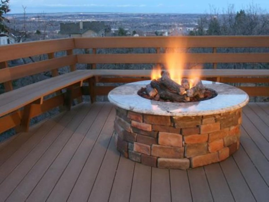 How To Make DIY Fire Pit In Garden With Low Budget 13