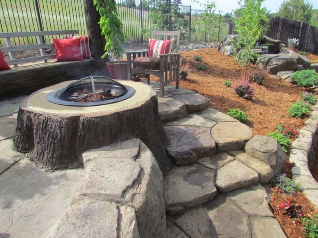 How To Make DIY Fire Pit In Garden With Low Budget 28
