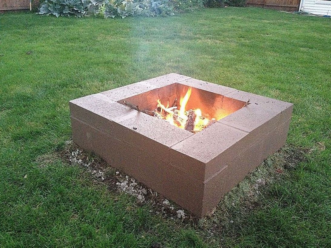 How To Make DIY Fire Pit In Garden With Low Budget 30
