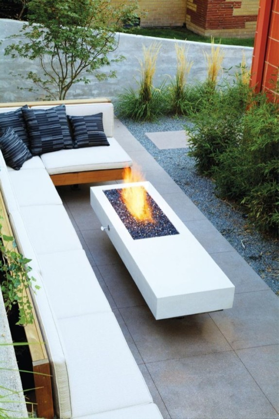 How To Make DIY Fire Pit In Garden With Low Budget 39