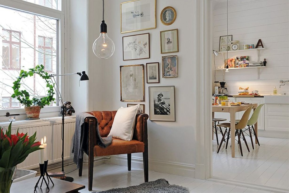 Light And Style Scandinavian Living Room Design 03