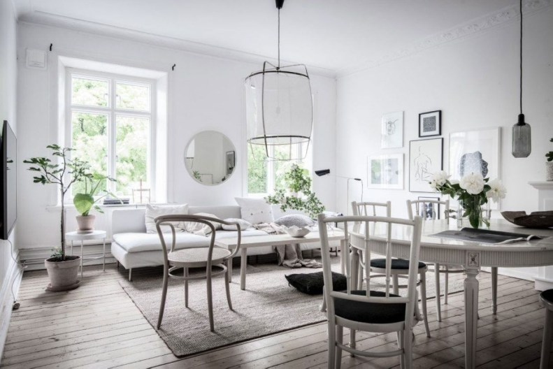 Light And Style Scandinavian Living Room Design 27
