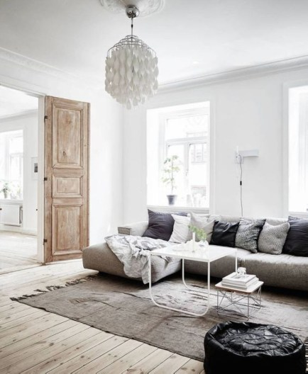 Light And Style Scandinavian Living Room Design 28