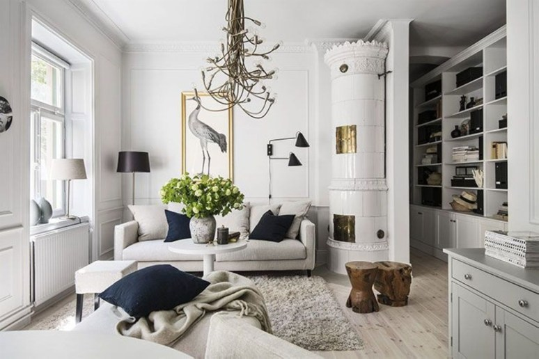 Light And Style Scandinavian Living Room Design 44