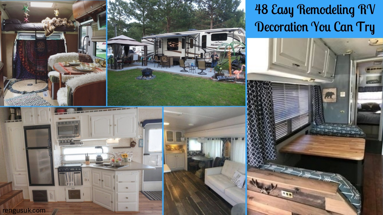 48 Easy Remodeling Rv Decoration You Can Try Rengusuk Com