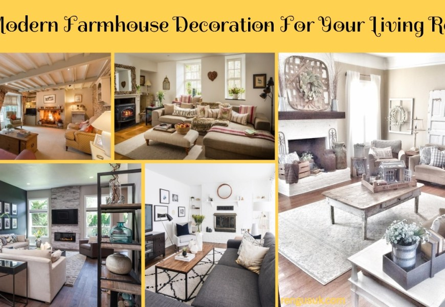 49 Modern Farmhouse Decoration For Your Living Room