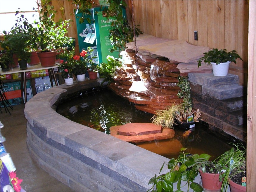Amazing Indoor Fish Pond To Upgrade Your House 07