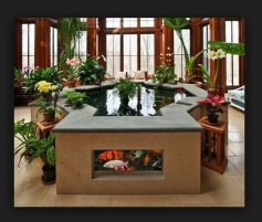 Amazing Indoor Fish Pond To Upgrade Your House 13