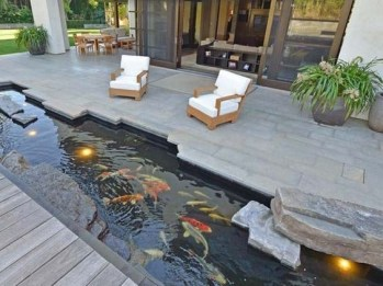 Amazing Indoor Fish Pond To Upgrade Your House 15