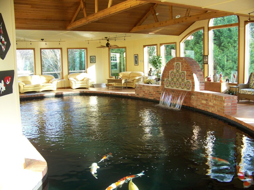 Amazing Indoor Fish Pond To Upgrade Your House 17
