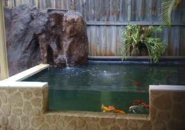 Amazing Indoor Fish Pond To Upgrade Your House 25