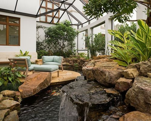 Amazing Indoor Fish Pond To Upgrade Your House 44