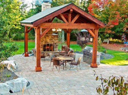 Best Backyard Gazebo Made From Pallets 05