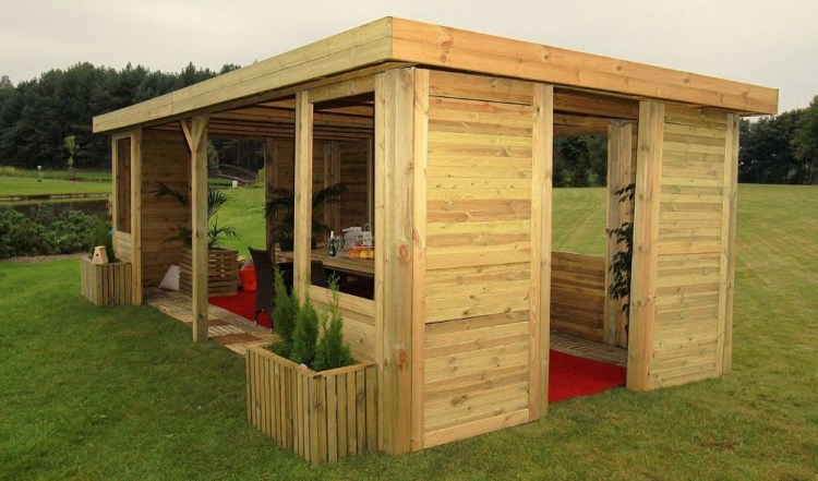 Best Backyard Gazebo Made From Pallets 23