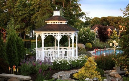Best Backyard Gazebo Made From Pallets 25