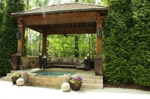 Best Backyard Gazebo Made From Pallets 30