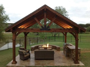 Best Backyard Gazebo Made From Pallets 36