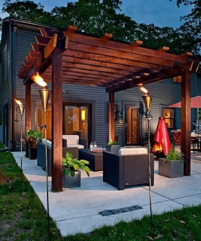 Best Backyard Gazebo Made From Pallets 38