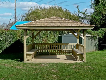 Best Backyard Gazebo Made From Pallets 45