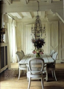 Best Decoration French Farmhouse Dining Room Design 01