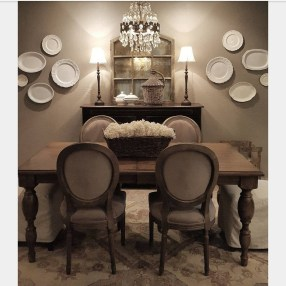 Best Decoration French Farmhouse Dining Room Design 02