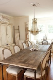 Best Decoration French Farmhouse Dining Room Design 27