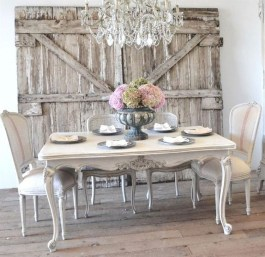 Best Decoration French Farmhouse Dining Room Design 30