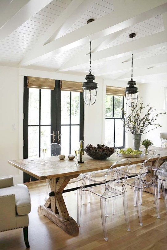 Best Decoration French Farmhouse Dining Room Design 51