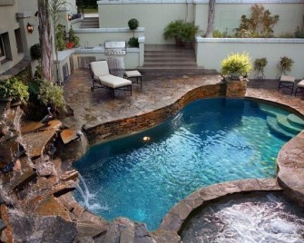 Best Outdoor Pool Design For Your Decoration 04
