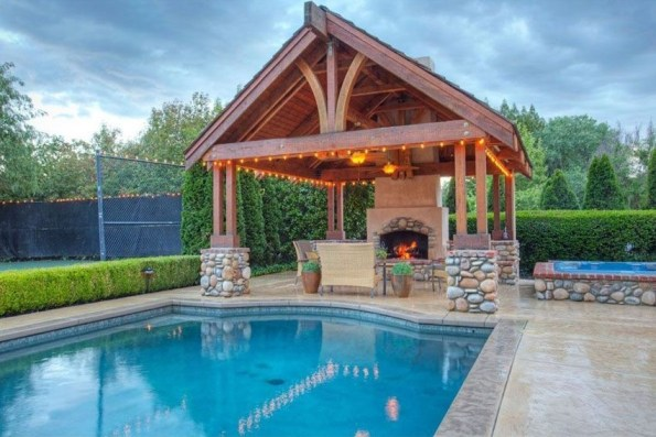 Best Outdoor Pool Design For Your Decoration 16