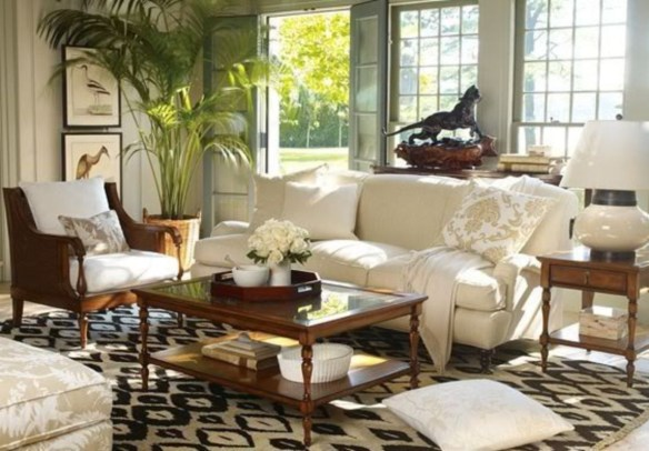 Best Rug To Decor Your First Living Room 38