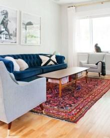 Best Rug To Decor Your First Living Room 41