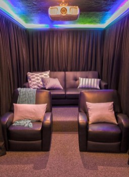 DIY Home Theater Seating Ideas 08