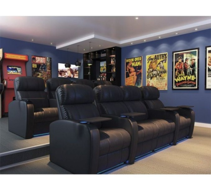 DIY Home Theater Seating Ideas 12