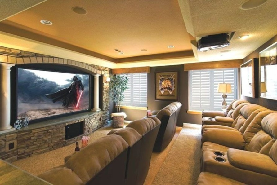 DIY Home Theater Seating Ideas 40