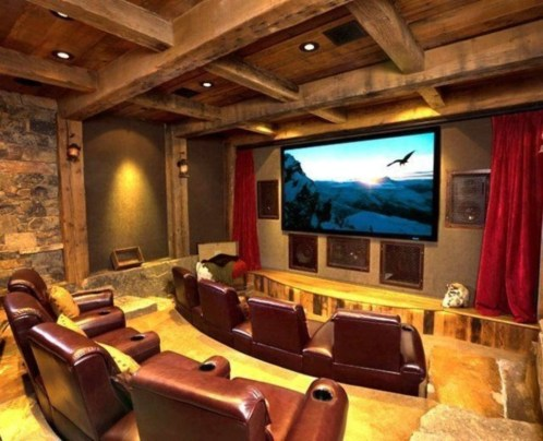 DIY Home Theater Seating Ideas 45