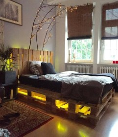 DIY Pallet For Bed Place For Your Idea 05