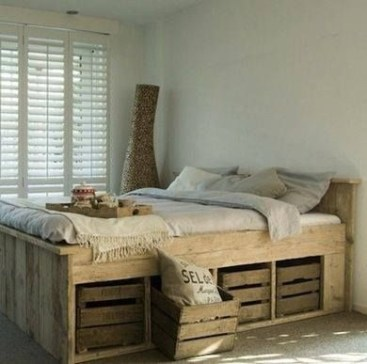 DIY Pallet For Bed Place For Your Idea 34