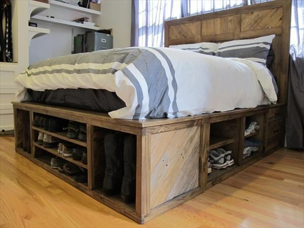 DIY Pallet For Bed Place For Your Idea 44