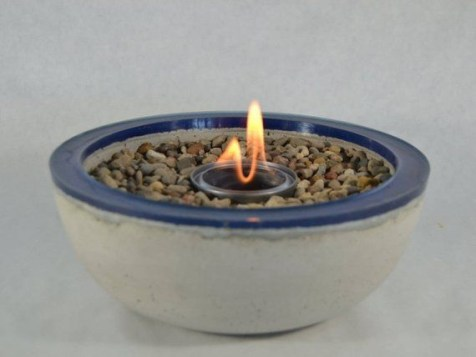 DIY Tabletop Fire Bowl To Be Best Inspire 20